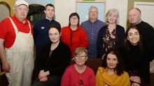 Cast members of the Glen Theatre production of 'Separate Beds'. Photo: John Tarrant