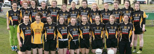 Mourneabbey Senior team who lined out for the Senior League Final 2013 in Fermoy on Sunday, May 12.