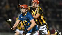 Bill Cooper, Cork, in action against Cillian Buckley, Kilkenny during their Allianz Hurling League, Division 1A clash in Páirc Uí Rinn last year. Photo by David Maher/Sportsfile