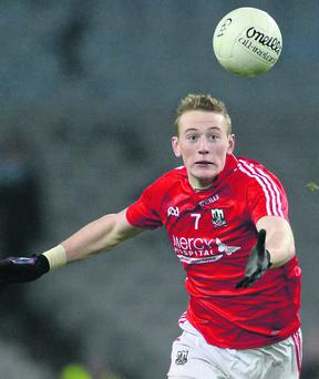 Damien Cahalane, Cork. Allianz Football League, Division 1. Photo: Paul Mohan / SPORTSFILE