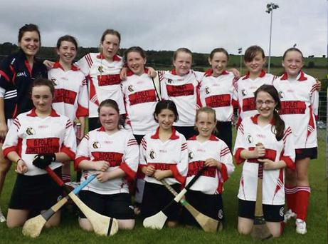 The Banteer U12 team that won the final against Tracton.