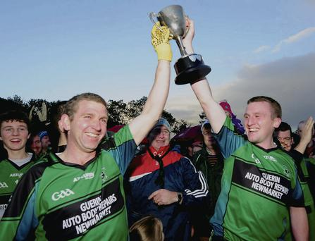 Delight for Glenlara after regaining a hold of the Duhallow Junior B Football Championship title in 2013 but can they remain a force in the championship this year?