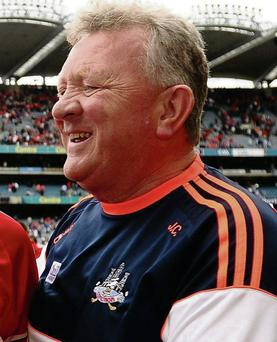 Cork selector Johnny Crowley.
