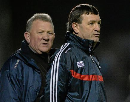 Cork manager Jimmy Barry Murphy. Matt Browne / SPORTSFILE