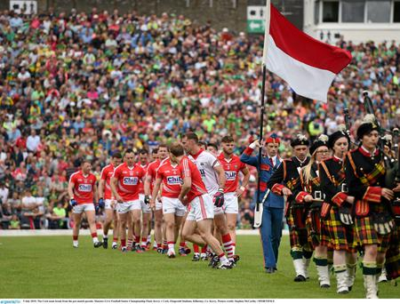 Cork have named the same 15 to face Kerry this weekend