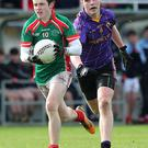Mitchelstown's George Pendle and CJ Barr of St.Marks