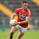 Paul Kerrigan of Cork in action during the game