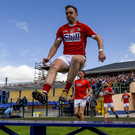 Paul Kerrigan of Cork ahead of the GAA Football All-Ireland Senior Championship Round 3B match between Longford and Cork at Glennon Brothers Pearse Park in Longford. Photo by Ramsey Cardy/Sportsfile