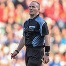 Referee Conor Lane. Picture credit: Stephen McCarthy / SPORTSFILE