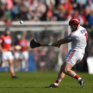Anthony Nash of Cork taking a free during the Allianz Hurling League Division 1A Round 5 match between Cork and Tipperary at Páirc Uí Rinn in Cork. Photo by Eóin Noonan/Sportsfile