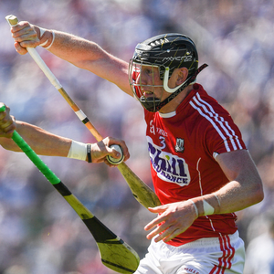 Maurice Shanahan of Waterford in action against Damien Cahalane of Cork during the Munster GAA Hurling Senior Championship Semi-Final match between Waterford and Cork at Semple Stadium in Thurles, Co Tipperary. Photo by Ray McManus/Sportsfile