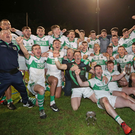 Kanturk celebrate after the win against Mallow