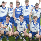 Knocknagree thrilled to win the Rebel Og North Cork Central Sports MFC Final over Sliabh Luachra Gaels in Boherbue