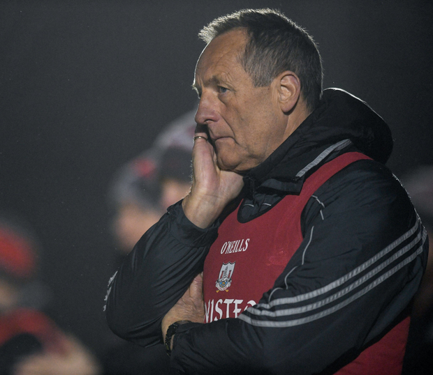 Cork manager John Meyle. Photo by Eóin Noonan