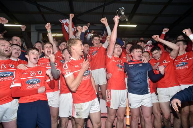 Charleville defeated Courcey Rovers in the county final replay