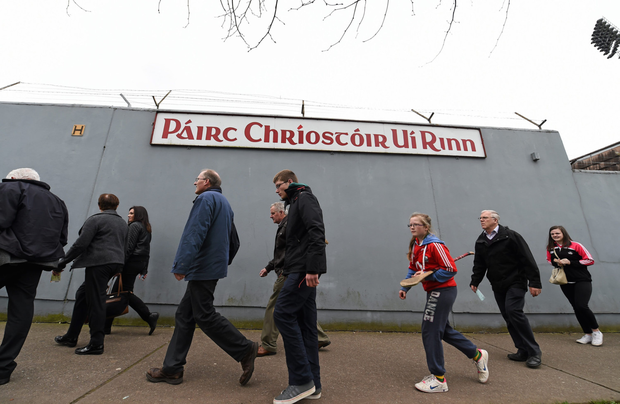 Inter-county hurling makes its return to Páirc Uí Rinn this weekend after the decision was taken to suspend play at the new Páirc Uí Chaoimh. Photo by Sportsfile