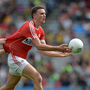 Mark Collins of Cork in action against Martin McElhiney of Donegal during an All Ireland qualifier match in Croke Park in 2016. Photo by Daire Brennan / Sportsfile
