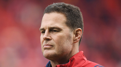 Munster Director of Rugby Rassie Erasmus. Photo: Brendan Moran/Sportsfile