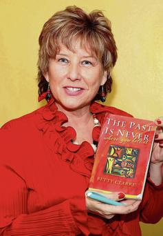 Betty Clarke will launch her first novel, 'The Past is Never Where You Left it, on Thursday, February 13.