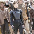 Katniss (Jennifer Lawrence) leads the charge in The Hunger Games: Mockingjay - Part 2