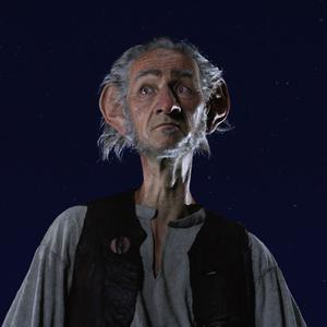 Mark Rylance as the BFG
