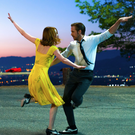 Ryan Gosling as Sebastian Wilder and Emma Stone as Mia Dolan in La La Land