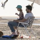 Mckenna Grace as Mary and Chris Evans as Frank in Gifted.