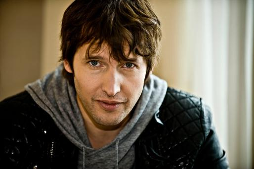 James Blunt who says he now hates 'You're Beautiful'