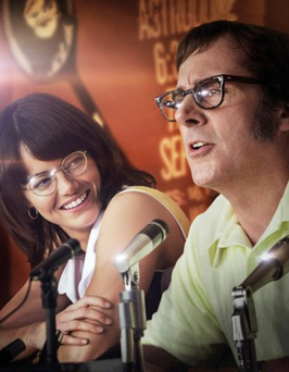 Emma Stone as Billie Jean King and Steve Carell as Bobby Riggs in Battle Of The Sexes