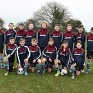Drogheda Schoolboy league U-13 squad who played against the Midlands Schoolboy League selection at Castlemartin