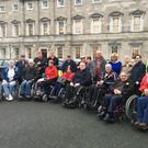 Members of the IWA Ardee group on their visit to Leinster House, pictured with Senator Mary Moran