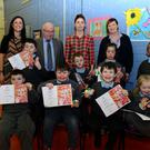 St Itas School Group Winners of the Drogheda Credit Union Special Category Poster Competition