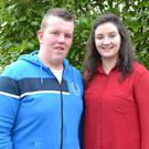 Foróige Volunteers from Sandpit in Louth James Reilly & Caroline Kenny at the 46th Foróige Volunteers Annual Conference which took place recently