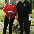 Bellewstown 2016 Lady Captain Jean Gogarty and Men's Captain Ciaran Fewer
