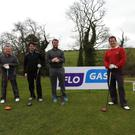 Paul Faulkner, Kevin Finnegan, Gary Healy and Martin Filbert at the Bellewstown Golf Club Flogas March Monthly Medal
