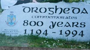 The Drogheda 800 stone