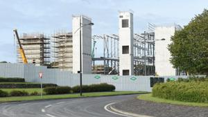 The first Amazon data centre is nearing completion