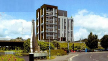 The proposed new development at the Bridge of Peace