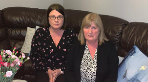 Appeal: Ger Gallagher and her daughter Marie