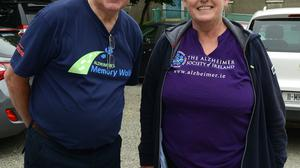 Noel Heeney and Ann Shortt who took part in the Camino Walk. Photo: Colin Bell Photography