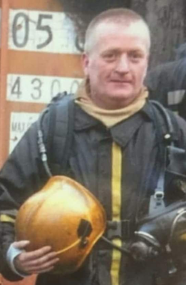The late Dunleer firefighter George Harmon