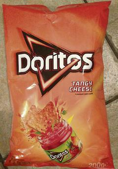 A Doritos bag was found in the family's chimney by a fire officer.