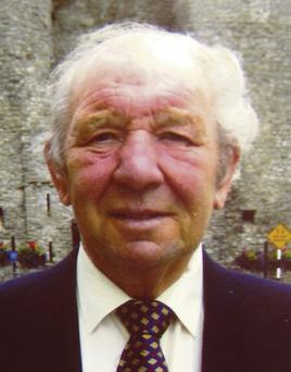 The late Paddy Cluskey
