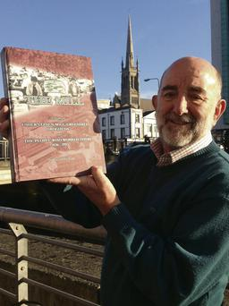 Richard Gerrard with the new book to be launched on December 1.