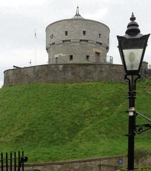 The Martello Tower at Millmount...or is it?