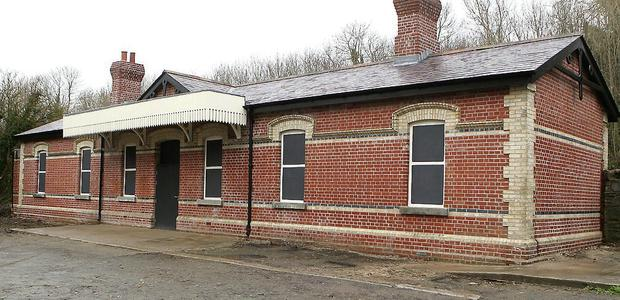 The train station in Dunleer.