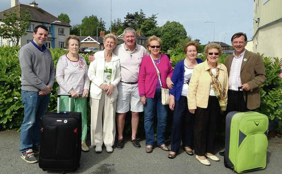 Some of the group and Lions Club members, heading for Cork.