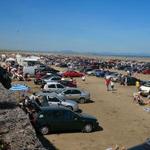 Bettystown beach has been a popular parking spot