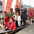 All aboard, the maritime crew set sail for this year's Drogheda event
