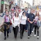 The Drogheda Pride festival kicked off on Friday afternoon with a photocall and ribbon cutting ceremony on West Street